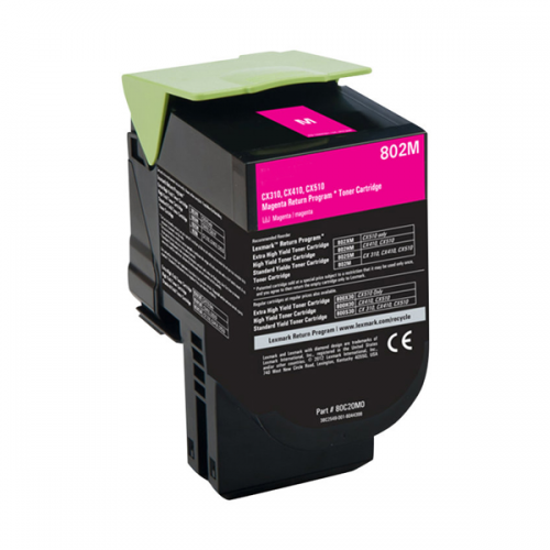 Lexmark 802M magenta (CX310/CX410/CX510) - kompatibilný