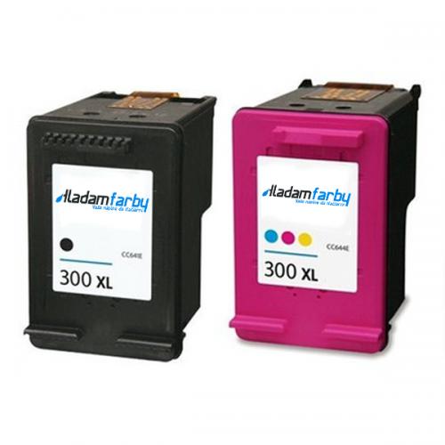 Multipack HP CC641EE + CC644EE (HP 300XL) - kompatibilný