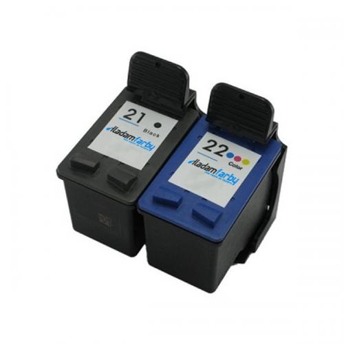 Multipack HP C9351AE (HP 21XL)+ C9352AE (HP 22XL) - kompatibilný