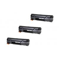 Sada 3 x HP 85A (CE285A) PREMIUM black - kompatibilný