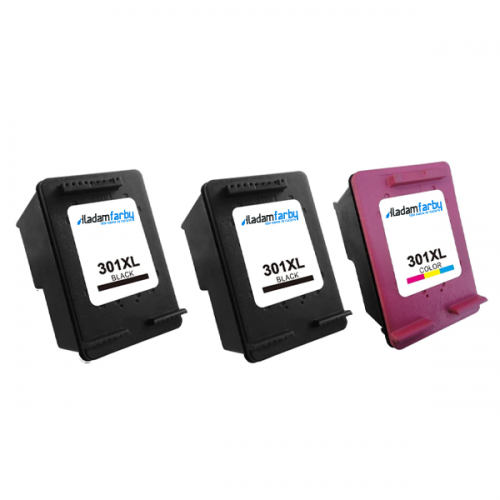 Multipack HP 2 x CH563EE + CH564EE (301XL) - kompatibilný