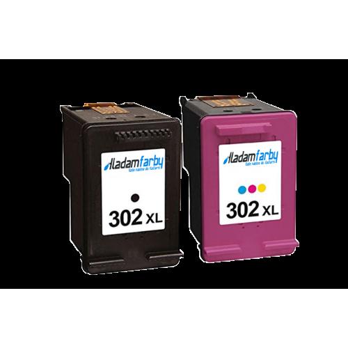 MultiPack HP 302XL (F6U68AE + F6U67AE) PREMIUM black + color - kompatibilný