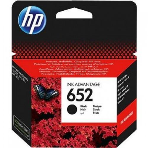 HP 652 (F6V25AE) black - originálny