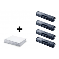 Sada 4 x Samsung MLT D111S (Samsung 111S) + kancelársky papier A4 ZADARMO - kompatibilný