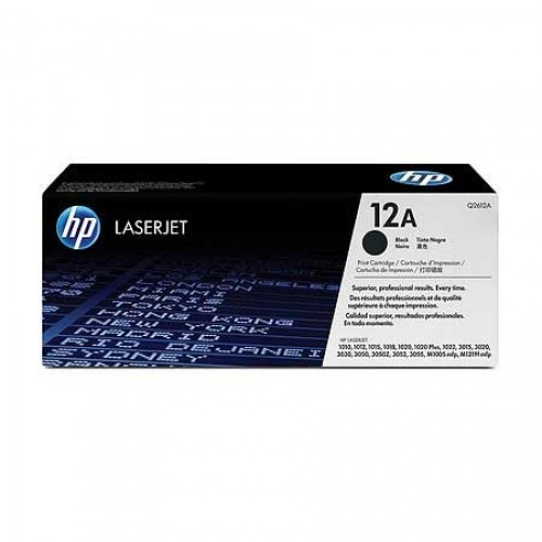 HP 12A (Q2612A) PREMIUM black - kompatibilný
