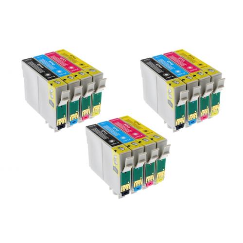 Sada 3 x Epson T0715 Multipack (T0711/ T0712/ T0713/ T0714) - kompatibilný