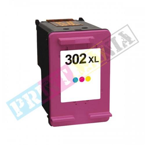 HP 302XL (F6U67AE) PREMIUM color - kompatibilný