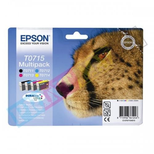 Epson T0715 multipack - originálny