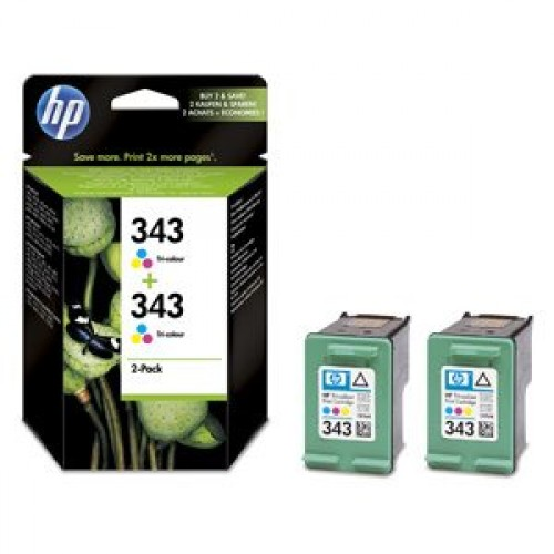 HP CB332EE No.343 (2x C8766EE) - originálny