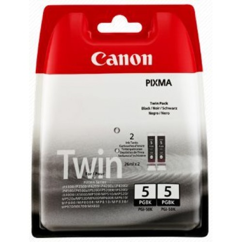 Canon PGI-5Bk (2ks) - originálny