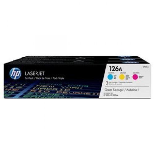 HP CF341A 3-pack HP126 (CE311A CE312A CE313A) - originálny