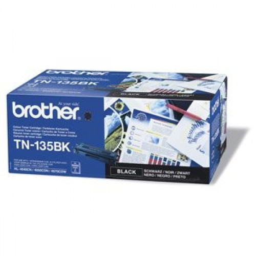Brother TN-135Bk - originálny